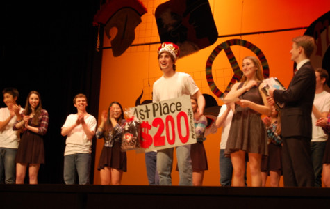 Chris Lasprogata, Newly Crowned Mr. Harriton, Tells All